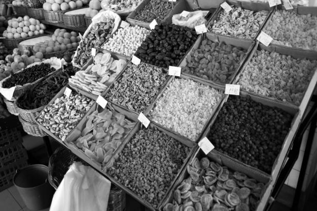 scene in portugal / island of madeira / funchal / mercado dos lavradores