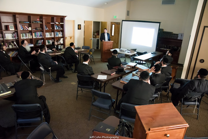 STAR-K Presents Shiur on Chalav Yisrael to the Yungerleit of Baltimore's Khal Chasidim Kollel L'Horo'ah