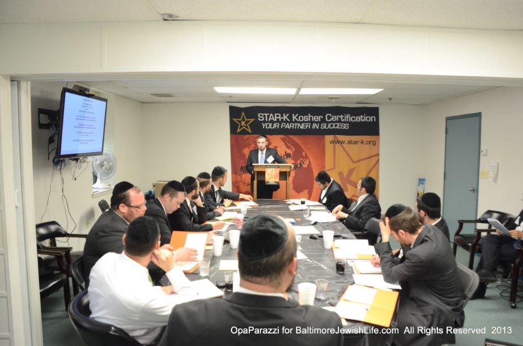 STAR-K Kosher Certification Hosts Back-to-Back Training Seminars