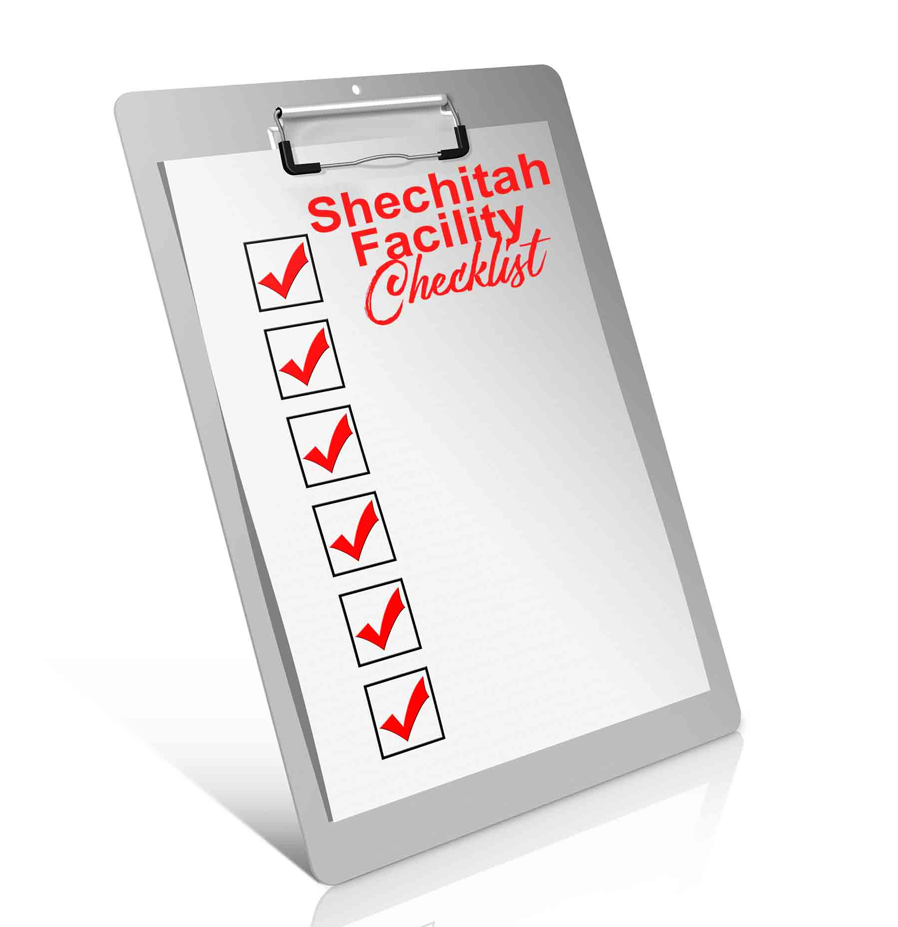 Checklist for Approving a Shechitah Facility