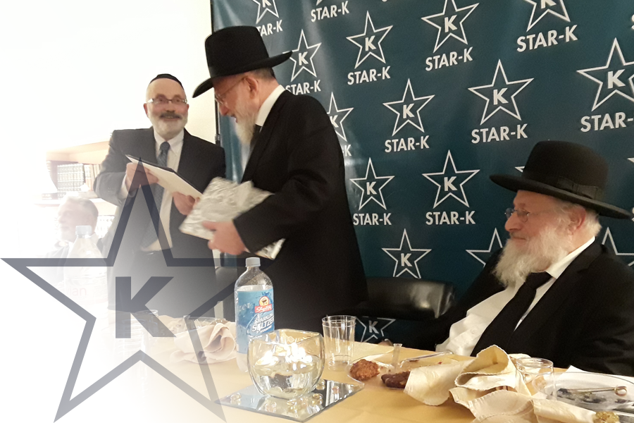 STAR-K Kosher Certification Director of Supervision Rabbi Eliyahu Shuman Retires After 42 Years
