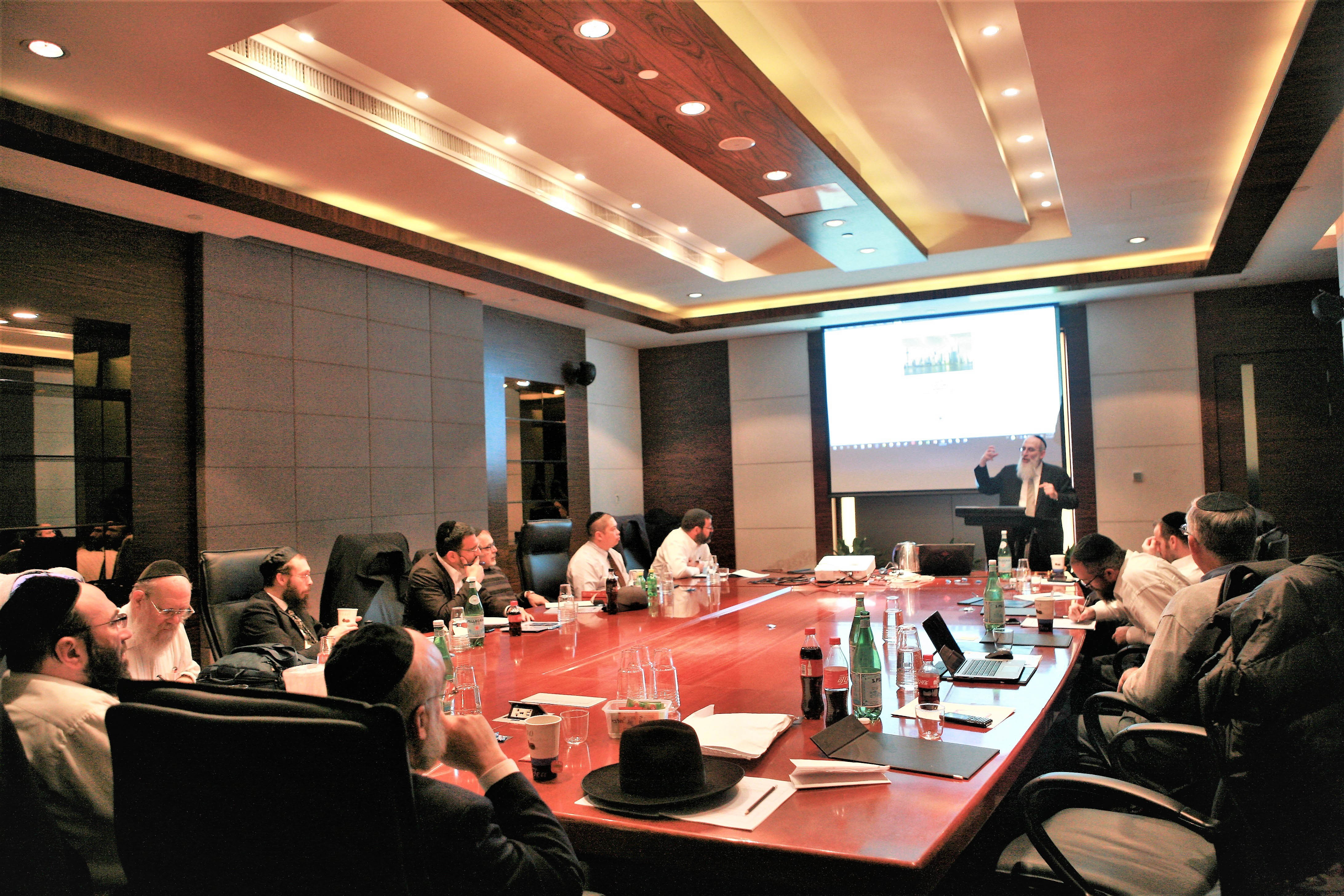 Pan-Asia Kosher Training Seminar Convened by STAR-K in Shanghai